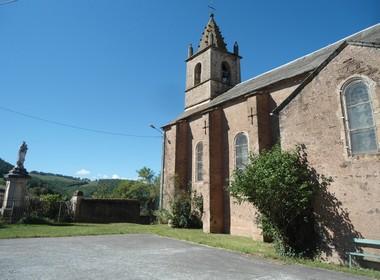 Le Cambon 12400 église