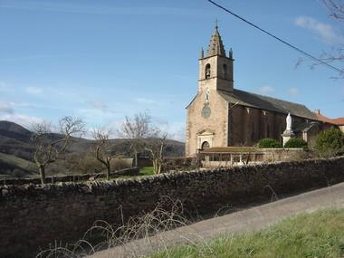 Le Cambon 12400 église 1