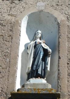 Le Cambon 12400 niche église