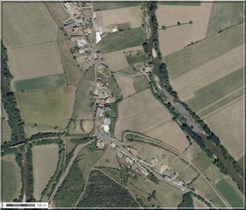 Le Cambon 12400 photo aérienne