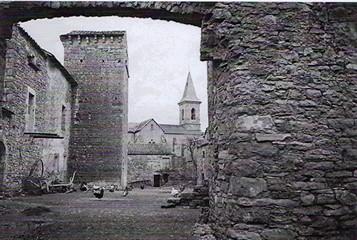 St Etienne de Naucoulès 12400 tour 1953