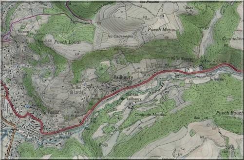 Vailhauzy route s